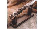 Кинжал настольный Гуртанг (стаб.кап клена, золочение)