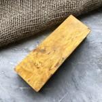 Стабилизированная карельская береза (желтая)