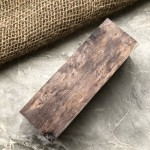 Стабилизированная карельская береза (коричневая)