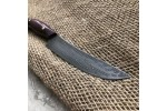 Кухонный булатный нож К001 (фултанг, амарант)