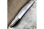 Кухонный булатный нож К002 мясной (фултанг, цветная микарта)