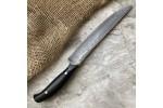 Кухонный булатный нож К002 Мясной (фултанг, граб)