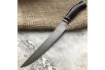 Булатный кухонный нож Филейный Мясной (граб)