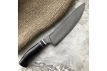 Булатный кухонный нож К003 Шеф (стаб.граб)
