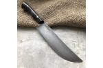 Кухонный булатный нож К004 ПЧАК (фултанг, стаб.граб)