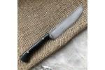 Кухонный булатный нож К005 Пчак Большой (граб)