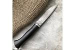 Булатный нож Малыш (стабилизированный граб)