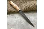 Булатный нож Тюринский (ясень)
