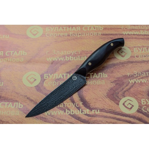 Кухонный булатный нож Уни-2 (стаб.граб)