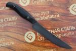 Нож кухонный из литого булата К001M-микарта
