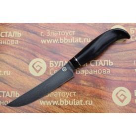 Нож кухонный из литого булата К001-граб