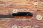 Нож кухонный из литого булата К002- граб