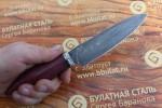 Подарочный набор кухонных ножей из литого булата Сантоку