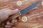 Нож кухонный универсальный каштан
