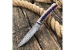 Булатный нож Малыш (гибрид карельской березы)