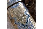 Сувенирное изделие из литого булата Кинжал Восточный