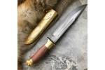 Подарочный булатный нож V006 Буйвол