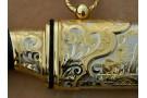 Нож подарочный из литого булата V006 -ЦМ-Медведь
