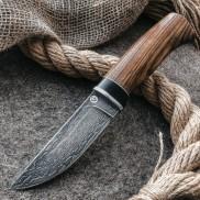 Булатный нож Беринг (зебрано)