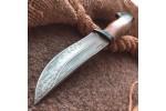 Булатный нож Притёс (кавказский горный орех)