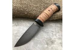 Булатный нож R001 (наборная береста)