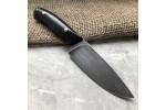 Булатный нож R001 (фултанг, стабилизированный граб)