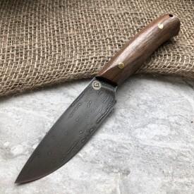 Булатный нож R001 (фултанг, кавказский орех)