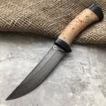 Булатный нож R002B (наборная береста)