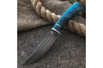 Булатный нож R002 (стабилизированный кап клена)