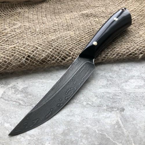 Булатный нож R002 (фултанг, граб)
