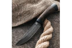 Булатный нож R002B (кавказский горный орех)