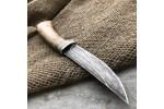 Булатный нож R002B (карельская береза)