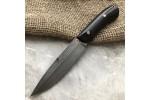 Булатный нож R003 (фултанг, стабилизированный граб)