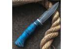 Булатный нож R003 (стабилизированный кап клена)
