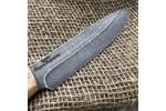Булатный нож R005 (фултанг, каштан)