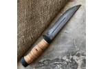 Булатный нож R006 (наборная береста)