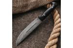Булатный нож R006G Финский (фултанг, граб)