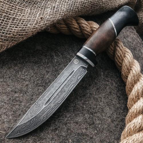 Булатный нож R006 (комби-рукоять)
