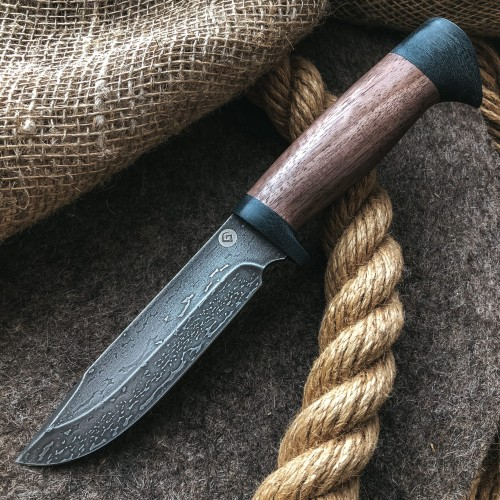 Булатный нож R007 (кавказский горный орех)