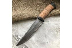 Булатный нож R008  (наборная береста)