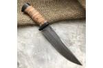 Булатный нож R008 - наборная береста