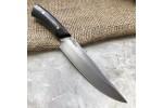 Булатный нож R008 (фултанг, стабилизированный граб)