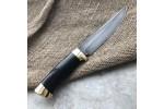 Булатный нож R008 (стаб. граб + латунь)
