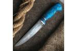 Булатный нож R008 (стабилизированный кап клена)