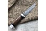 Булатный нож R008 (горный орех + алюминий)