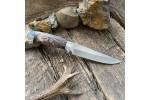 Нож R008  (стабилизированный кап клена, алюминий) SKD-11