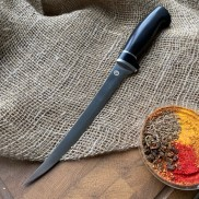 Кухонный нож К002 Рыбный (граб) SKD-11