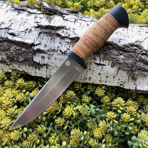 Нож R008  (наборная береста) SKD-11