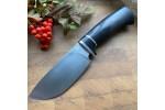 Шкуросъемный нож S002 (стабилизированный граб) SKD-11