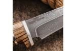 Булатный нож R008 (зебрано)